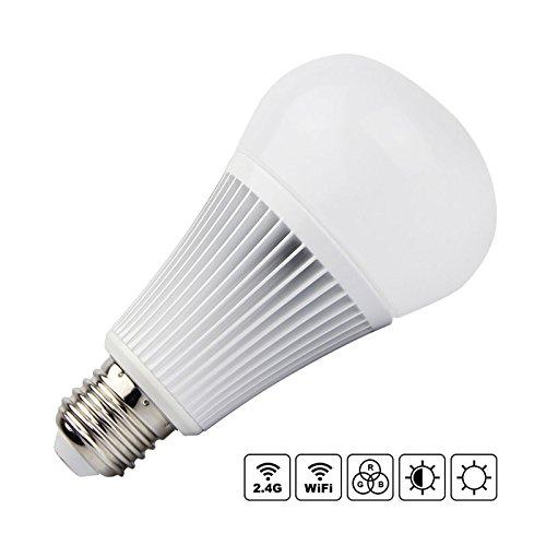 Bombilla LED WiFi E27 Bulb 9W RGB+CCT + Blanco Dual (Cálido + Frío) Regulable