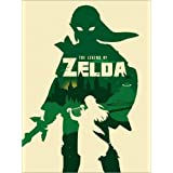 Póster 60 x 80 cm: The Legend of Zelda minimalist art print de Golden Planet Prints - impresión artística de alta calidad, nuevo póster artístico