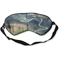 Eye Mask Eyeshade Forest River Sleep Mask Blindfold Eyepatch Adjustable Head Strap preisvergleich bei billige-tabletten.eu