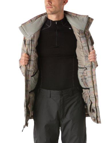 Rip Curl Herren Jacket snow Hotblood Yarndye grün - Forest Night