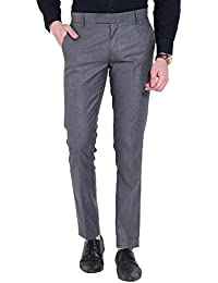 Try This Men's Formal Trousers - Light Grey