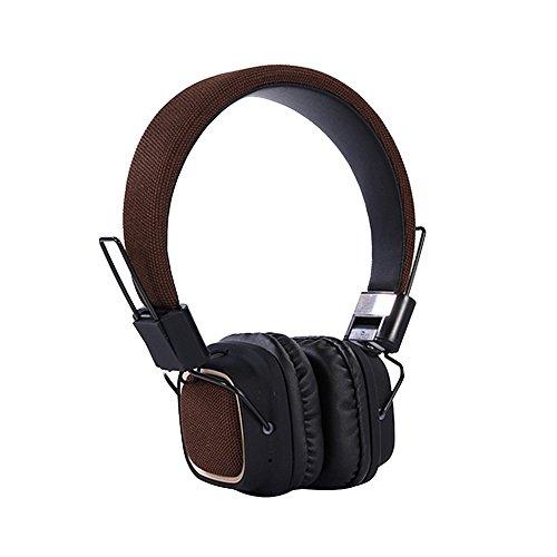 Naturazy TC-BT019 Auricular Bluetooth Plegable montado en la cabezaAuricular estéreo para Auriculares...