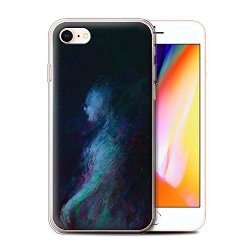 Offiziell Chris Cold Hülle / Gel TPU Case für Apple iPhone 8 / Pack 10pcs Muster / Dunkle Kunst Dämon Kollektion Geist/Ghul