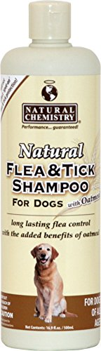 Natural Flea & Tick Shampoo W/Oatmeal For Dogs 16.9oz- Tick Shampoo