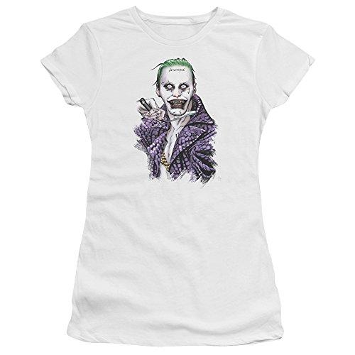 Suicide Squad Damen T-Shirt Weiß