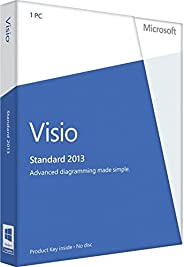 Microsoft Visio Professional 2013 - 1PC (Product Key ohne Datenträger)