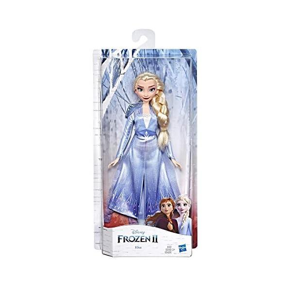 Hasbro Frozen Hasbro Disney Elsa Fashion Bambola con Capelli Lunghi e Abito Blu, Ispirata al Film Frozen 2, Multicolore… 3 spesavip