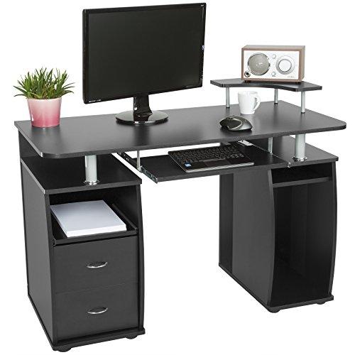 TecTake Bureau Informatique Table de l'ordinateur avec...