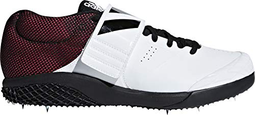 adidas Adizero Javelin, Scarpe da Fitness Unisex-Adulto, Multicolore (Ftwbla/Negbás/Rojsho 000), 41 1/3 EU