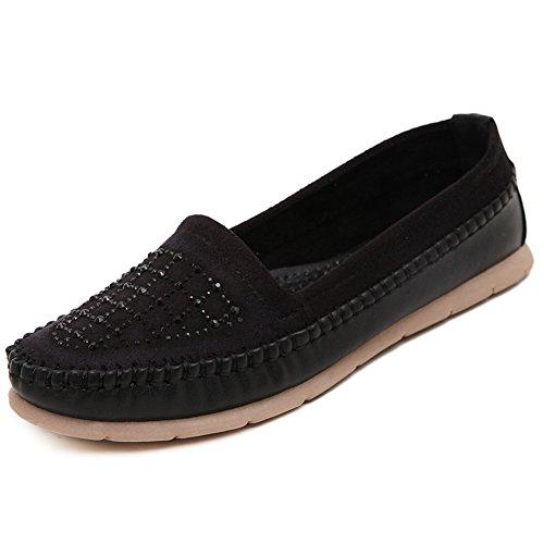 XTIAN - Pantofole Donna , nero (nero), 38 EU(235)
