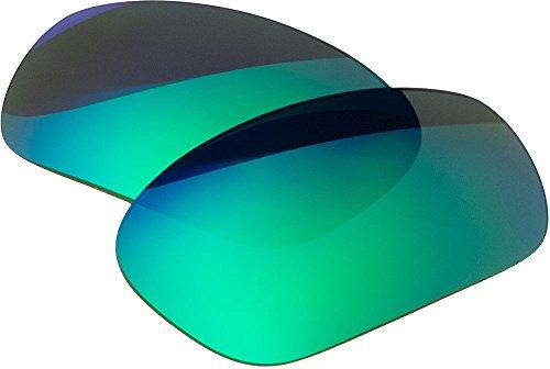 Ersatz-Objektive für Oakley Racing Jacket Sonnenbrille, Green Mirror