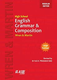 Wren & Martin High School English Grammar and Composition Book (Regular Edit