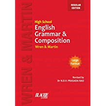 Wren & Martin High School English Grammar and Composition Book (Regular Edition)