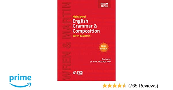 High School English Grammar and Composition Book Regular