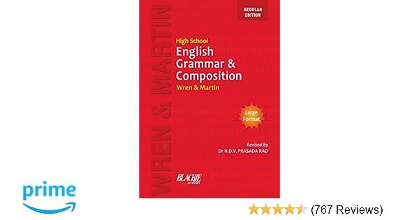 High School English Grammar and Composition Book Regular