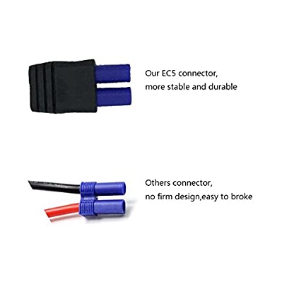 EC5 Jump Starter Qutaway Replacement EC5 Connnector Emergency Lead Jumper Cable Alligator Clamp Booster Clips For Cars