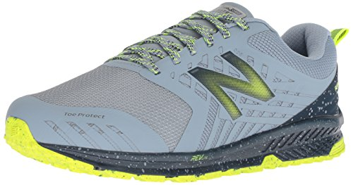 New Balance Fuel Core Nitrel, Scarpe da Trail Running Uomo, Grigio (Reflection/Galaxy/Hi-Lite Rr1), 44 EU