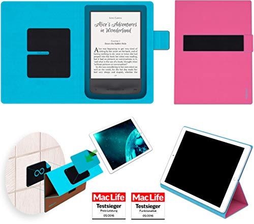 reboon Hülle für Pocketbook Aqua 2 Tasche Cover Case Bumper   in Pink   Testsieger (Aqua-ereader)