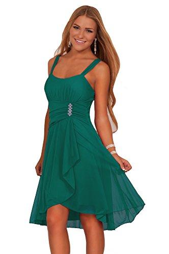 hot-from-hollywood-damen-kleid-grun-verde-jade-medium