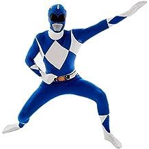Disfraz de Power Ranger Azul Morphsuit - S