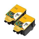 UCI KI 30  2 x couleur) 2 x Kodak 30 Couleur Non OEM encre Compatible Cartouche d'encre avec jetons remplacement pour Kodak ESP C100, C110, C115, C300, C310, C315, C330, C360, ESP Office 2100/AIO/2150/2170 HERO HERO 3.1, 5.1, tout en un Kodak ESP C100, C110, C115, C300, C310, C315, C330, C360, ESP Office 2100/AIO/2150/2170 HERO, HERO 3.1, 5.1 All-in-One Printer