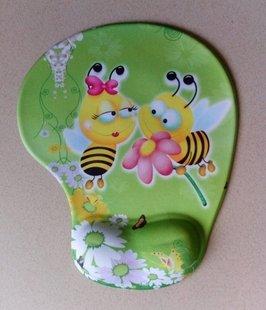 Preisvergleich Produktbild Felix Comfort Gel-Mousepad Fashion Bienen Muster am Handgelenk–funktioniert mit allen Arten von Mäuse gadget- Hohe Qualität–Grün