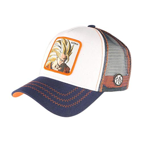 Capslab Son Goku Super Sayajin Trucker Cap Dragon