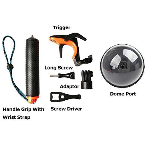 GreatFun Kameraschutz/Regenschutz/wasserdichtes oder regensicheres Gewebe, geeignet für Tauch- / Surfaktivitäten wie Tauchen und Surfen für Go Pro Hero5 / Hero6 / Hero7 -