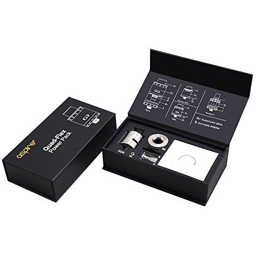 Aspire Quad-Flex Power Pack 2ml Atomizer Fit for RX200/RX200S/H-priv TC 220W Nicotine Free