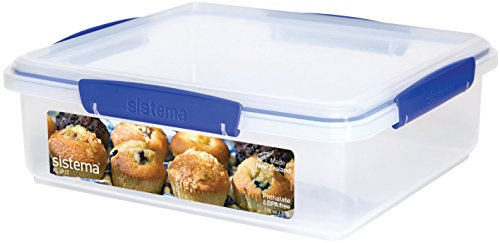 Sistema KLIP IT Bakery Box, Blue Clips, 3.5 Litre