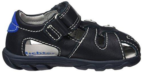 Richter Kinderschuhe Terrino, Chaussures Marche Bébé Garçon Blau (atlantic/lagoon)