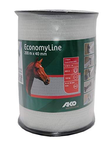 HORIZONT  Weidezaunband Farmer T40 weiß 40 mm