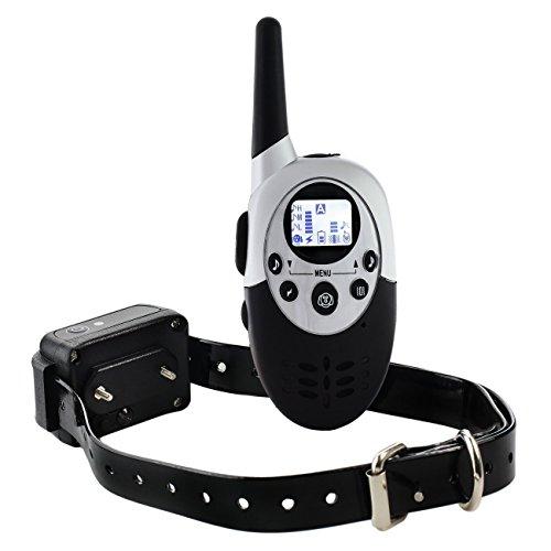 collier-de-dressage-de-chien-electrique-rechargeable-hautement-etanche-telecommande-sans-fil-a-porte