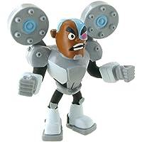 Teen Titans Go Figuras Cyborg, 8 cm (1)