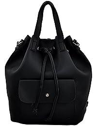 Mark & Keith Women Black Handbag(MBG 0514 BK)