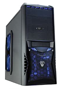 Intel Core i7 Quad Core 3770K PC 3.50 GHz x4 8GB DDR3 RAM 1TB HD Tower Computer - Vantage Blue LED Gaming Case with HD Audio, 4 Case Fans, SD, Card Reader Ideal For Home, Office, Work, Family, Back To School, University, Gaming PC, Desktop PC, Multimedia Player + Supports Full HD 1080p & Allows Dual Independent Screens, With SuperFast USB3 Ports, WiFi Ready Enabled, Wireless Broadband Internet, Ready For You To Install Windows (No Operating System)