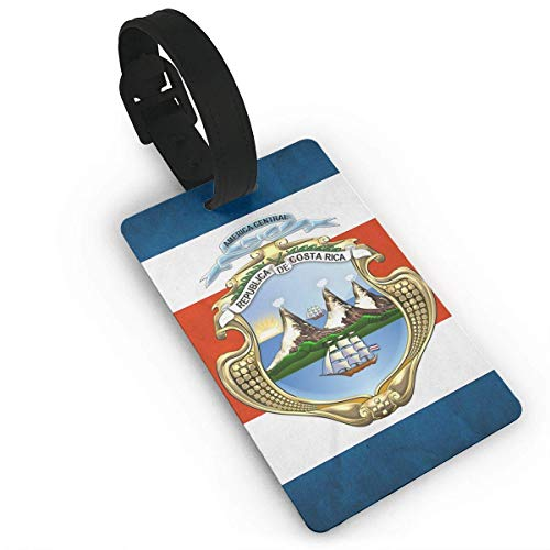 Costa Rica Flag Pattern Luggage Tags ID Convenience Accessioes
