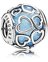 Pandora Damen-Bead Charms 925 Sterlingsilber 792036NBS