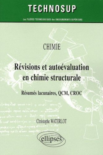 Book's Cover of Révisions et Autoévaluation en Chimie Structurale