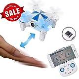 SGILE Mini Drone RC 4CH 6 Axis Quadcopter Drone Control Remoto...