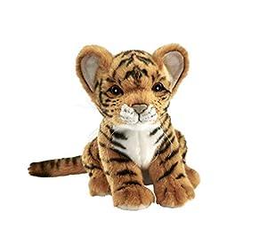 HANSA-Peluche Tigre marrón bebé Sentado 18CMH (sustituye 3421)