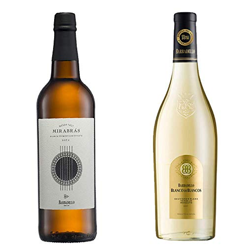 Mirabrás Y Blanco De Los Blancos - Vinos De Barbadillo -2 Botellas De 750 Ml