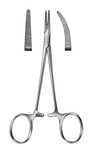 Comdent – Pinza de mosquito hemostática curvada 15-494-CRD