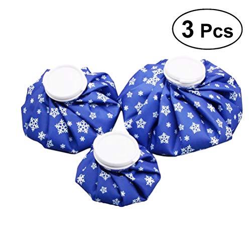SUPVOX Mini EIS Gel Hot Cold Pack Gel Fever Cooling Pad Tasche für Schmerzlinderung Kleine Gelenke Verletzungen 3 stücke