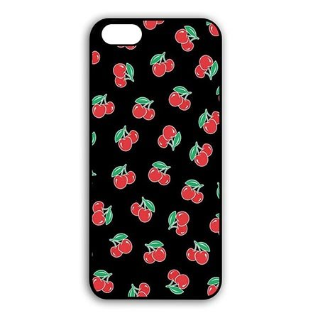 Warm Cherry-tv (Hard Plastic Hülle Protector for iPhone 6 iPhone 6S - 4.7 Inch, All Over Print Cherry Hard Shell Hülle Schutzhülle Case For Women)