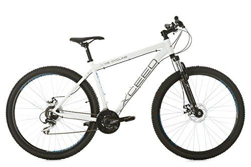 KS Cycling Unisex-Erwachsene Mountainbike, Weiß, 51 cm