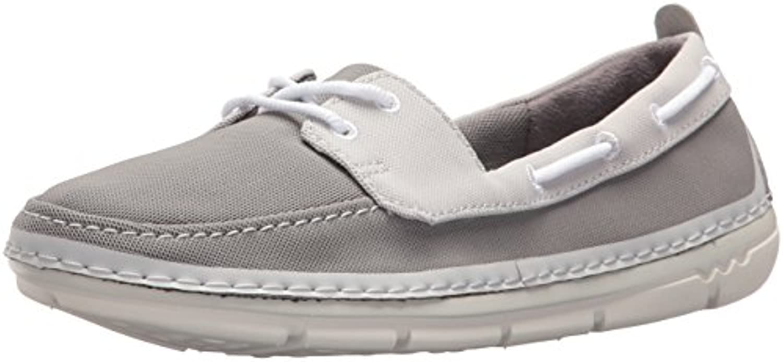 Clarks Wouomo Step Maro Sand Boat scarpe, grigio Textile Combi, 8.5 Medium US   Specifica completa    Uomo/Donne Scarpa