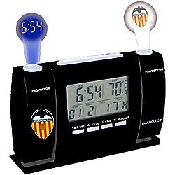 Oficial Valencia CF Proyector LCD Reloj (2602176)