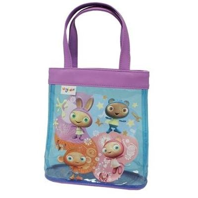 Waybuloo Tote Bag, Two Lilac Handles, Piplings Picture, Waybuloo Tag