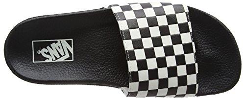 Vans Herren Slide-On Pantoletten Schwarz (checkerboard/white) iGjkv